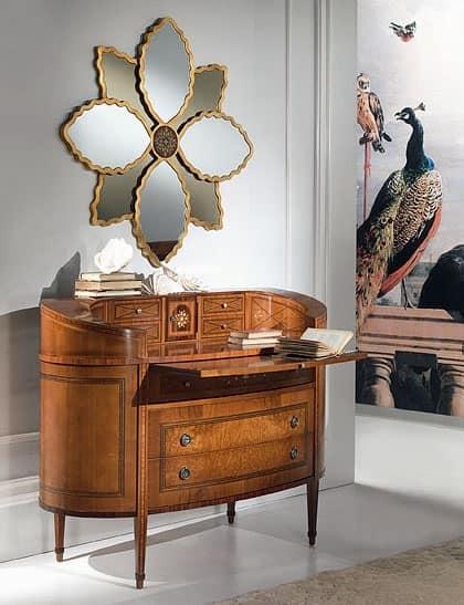 Com classico di lusso ellittico con scrittoio idfdesign - Carpanelli mobili ...