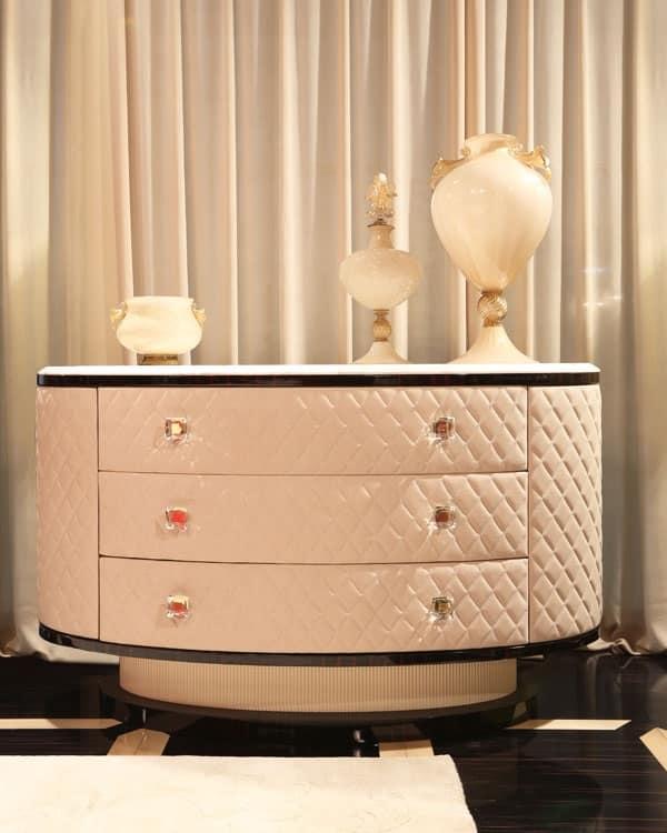 Mobile in stile antico con cassetti negozio d 39 arredo classico idfdesign for Arredo bagno stile antico