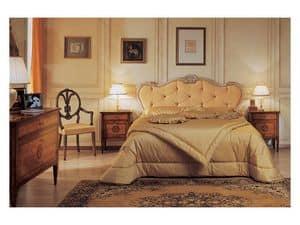 Art. 910 comodino '700 Italiano Maggiolini, Comodini in stile, a tre cassetti, per Hotel ed alberghi