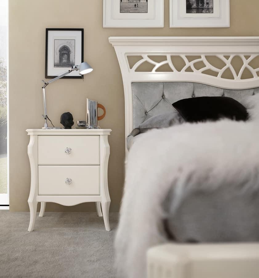 Comodino per camere da letto glamour | IDFdesign