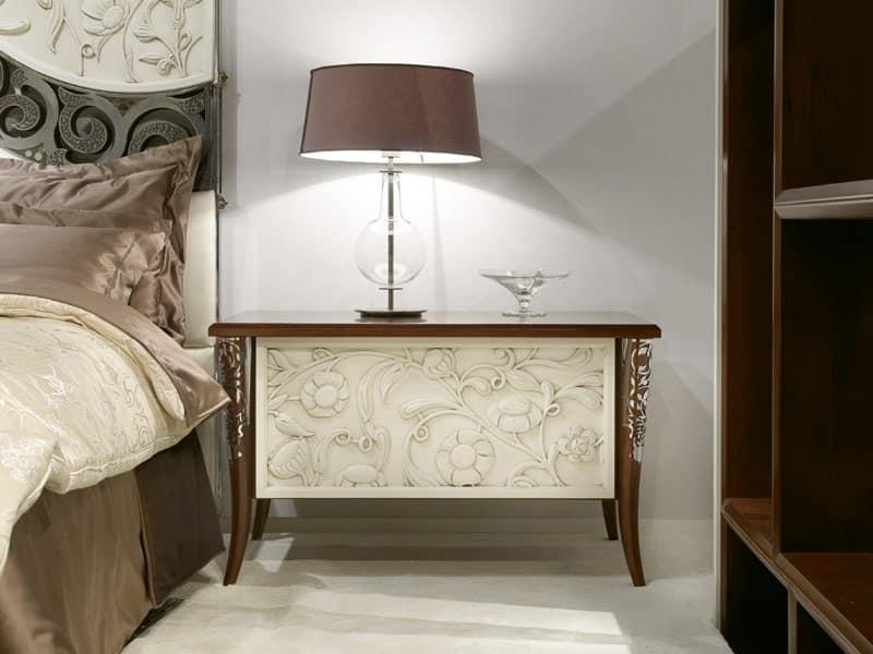 Comodini in stile in palissandro per alberghi di lusso - Comodini di design ...