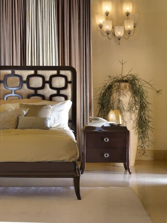 Comodino con 2 cassetti in stile essenziale per casa for Casa essenziale