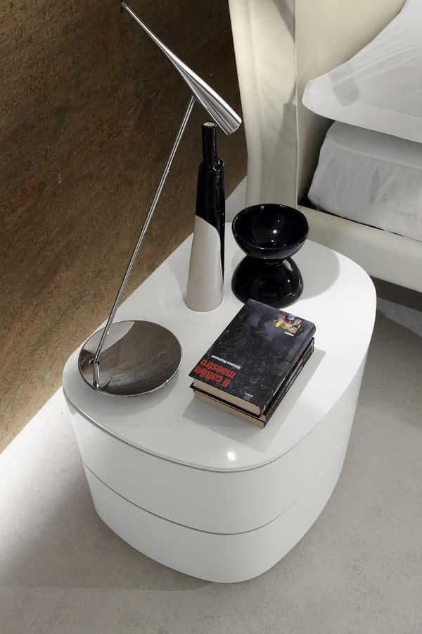 Best comodini in vetro camera da letto ideas modern design ideas