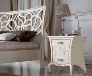 Immagine di La Dolce Vita - comodino cod. 3015, ideale per camera da letto