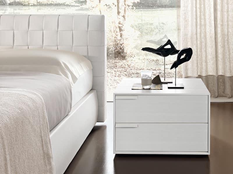 Mobili cassettiere madie comodini idf for Comodini camera da letto moderni
