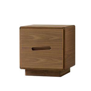 Malib� 1367/F, Comodino in legno con  maniglie intagliate