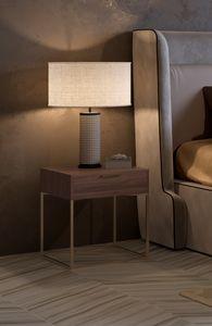 Nox comodino, Comodino dal design minimale