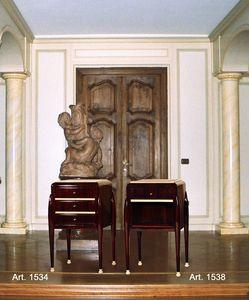 Ruhlmann Art D�co Art. 1534 - 1538, Comodini in stile Art D�co