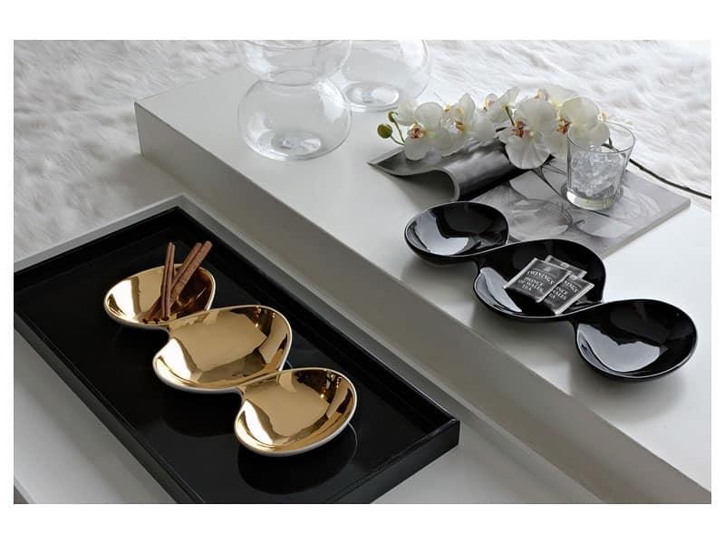 Q118x21 salsiera complementi arredo design salotto for Complementi arredo salotto