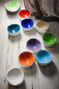 Rainbow, Ciotole decorative in ceramica