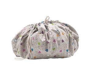 Sacco portagiochi, Sacco portagiochi che si trasforma in tappeto