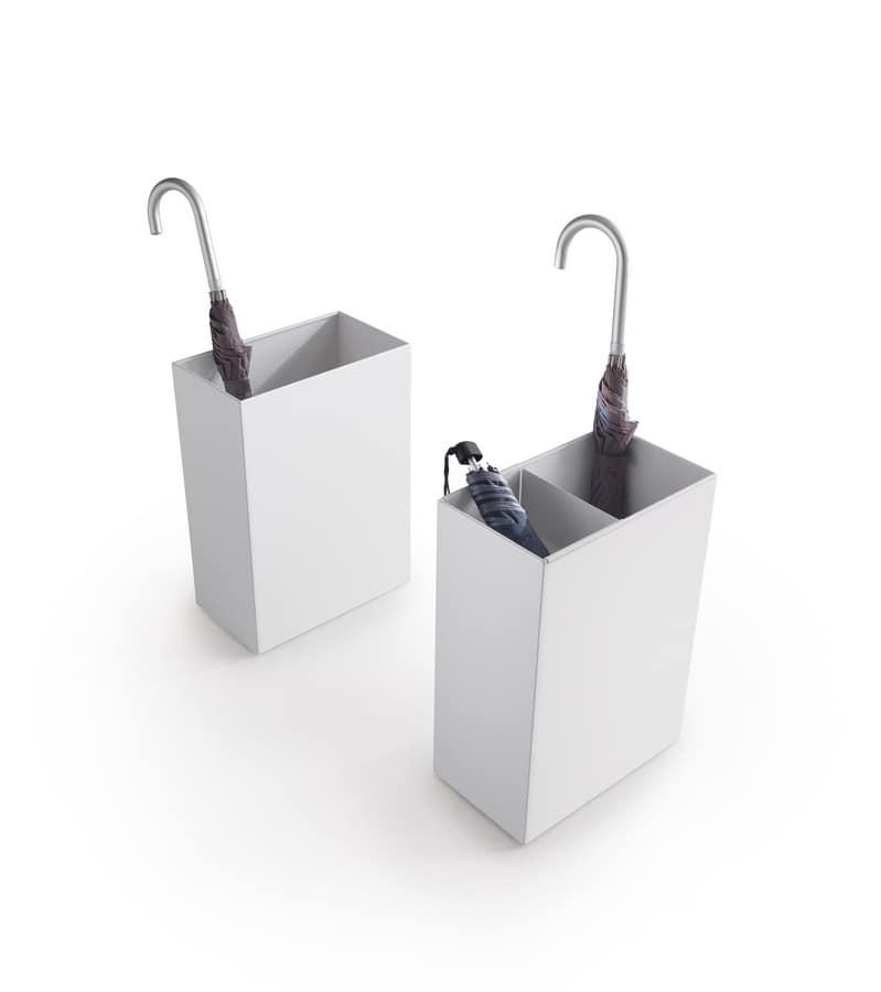 Design Collection portaombrelli, Portaombrelli in acciaio verniciato, per ufficio