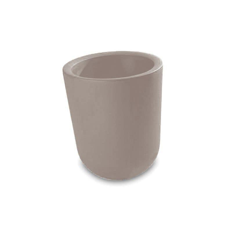 Duo, Gettacarte, pouf, vaso, colori fluo, per Albergo