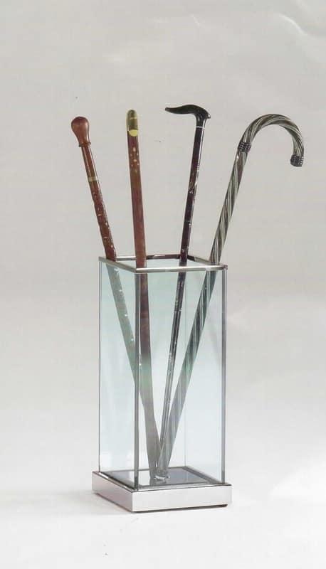 Portaombrelli in vetro e acciaio per la casa e l 39 ufficio - Casa in acciaio e vetro ...