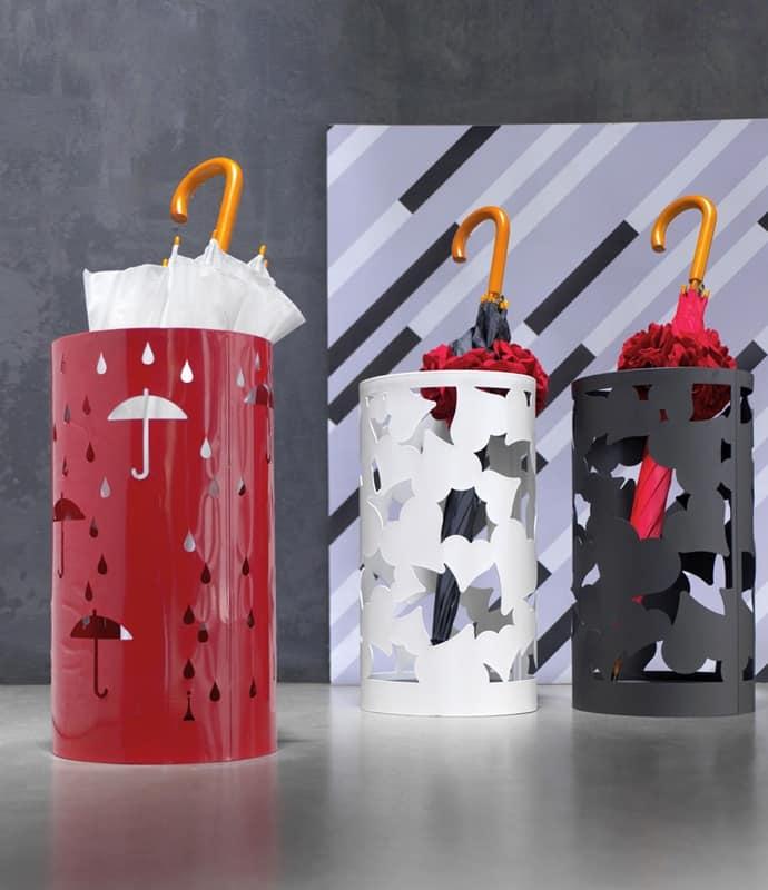 Portaombrelli moderno in metallo idfdesign - Porta ombrelli design ...