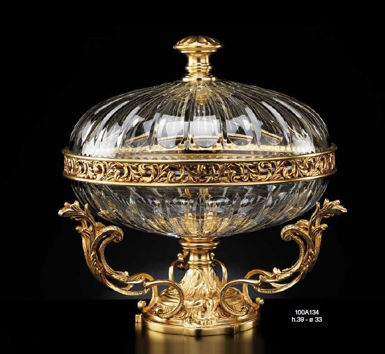 Complementi d 39 arredo in cristallo e bronzo idfdesign for Aziende complementi d arredo