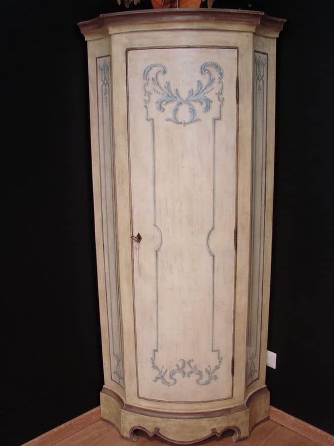 Mobile decorato ad angolo classico per la casa di lusso for Galimberti case legno