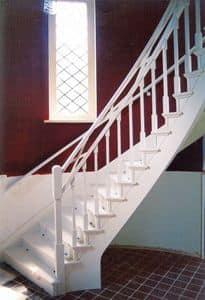 Scale Bianche, Scale in stile classico, per uso residenziale e per alberghi