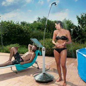 Doccia Solare Riscaldata Portatile Per Piscina Giardino SUNNY, Doccia solare portatile