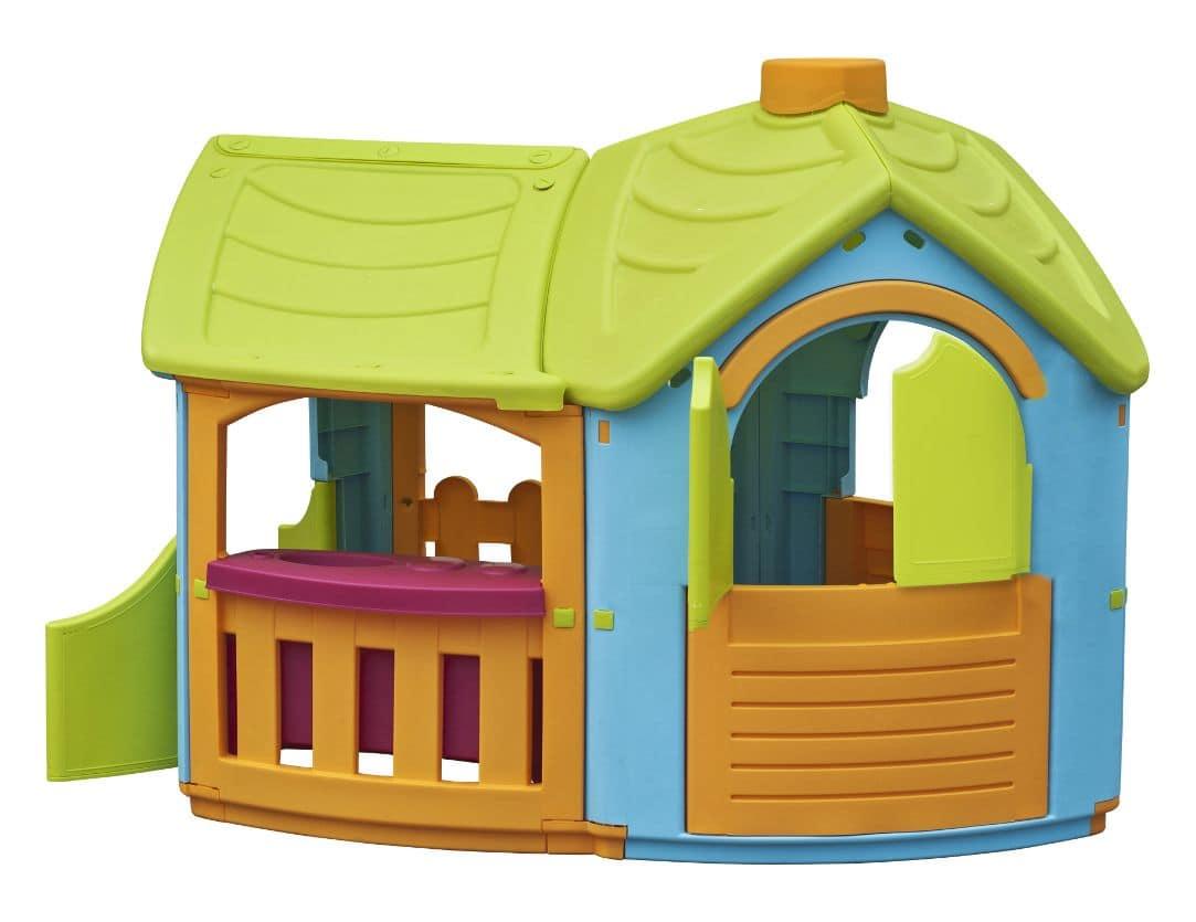 Casetta per bambini ideale per gli ambienti esterni idfdesign - Casetta giardino bambini ikea ...