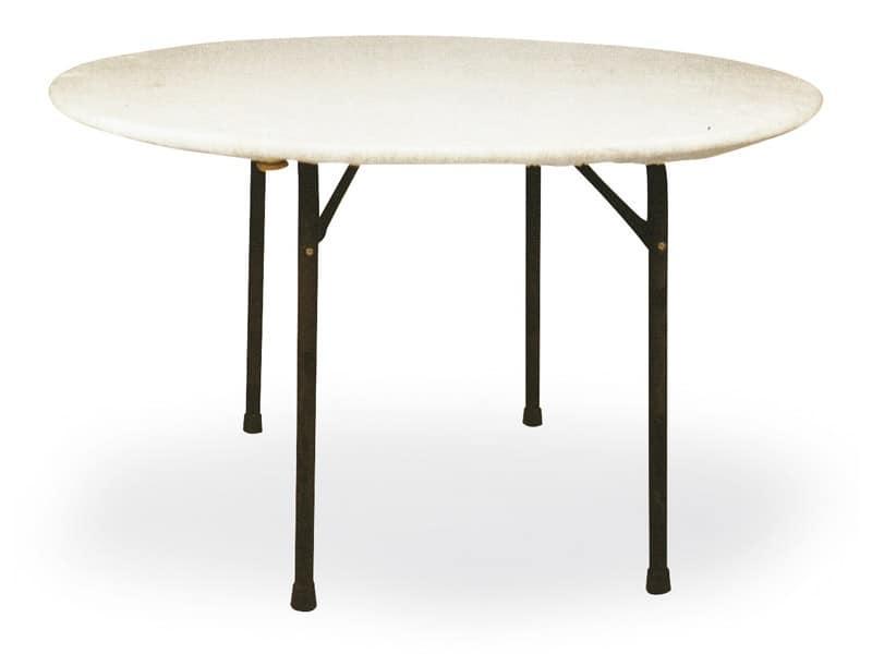 Mollettone per fissaggio tovaglia sul tavolo per albergo - Mollettone per stirare sul tavolo ...