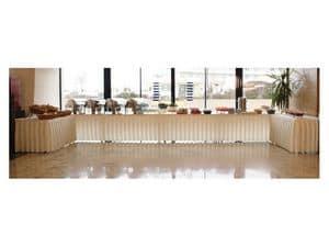 Pro Deco, Skirting per tavoli e pedane, per buffet e ristorazione