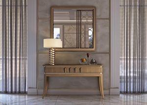 Art. 5020, Consolle con piano in marmo Emperador