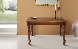 Art. 80, Consolle in legno, trasformabile in ampio tavolo