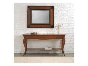 ASTRID consolle 8366K, Consolle in stile classico in legno massello con cassetti