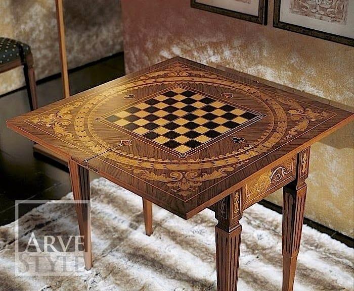Canaletto consolle, Consolle trasformabile in tavolo da gioco