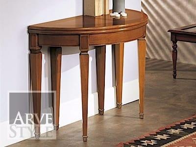 Canaletto consolle, Consolle transformabile in un tavolo ovale