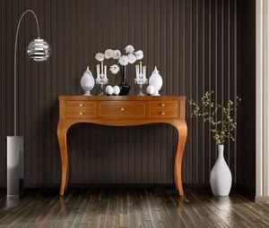 Elegant 5C consolle, Consolle in legno, con 5 cassetti