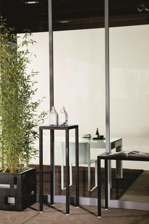 Consolle in metallo ideale per negozi e per la casa for Consolle metallo