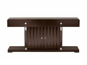 Heritage consolle, Consolle in legno, con ante e cassetti