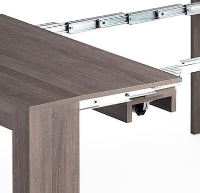 Consolle trasformabile in tavolo da pranzo per 14 persone - Tavolo per 10 persone ...