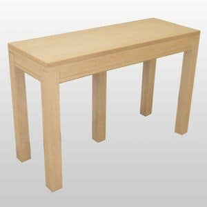 James, Consolle in legno, allungabile con quattro prolunghe