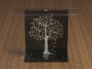 Klimt, Consolle con decorazione Klimt