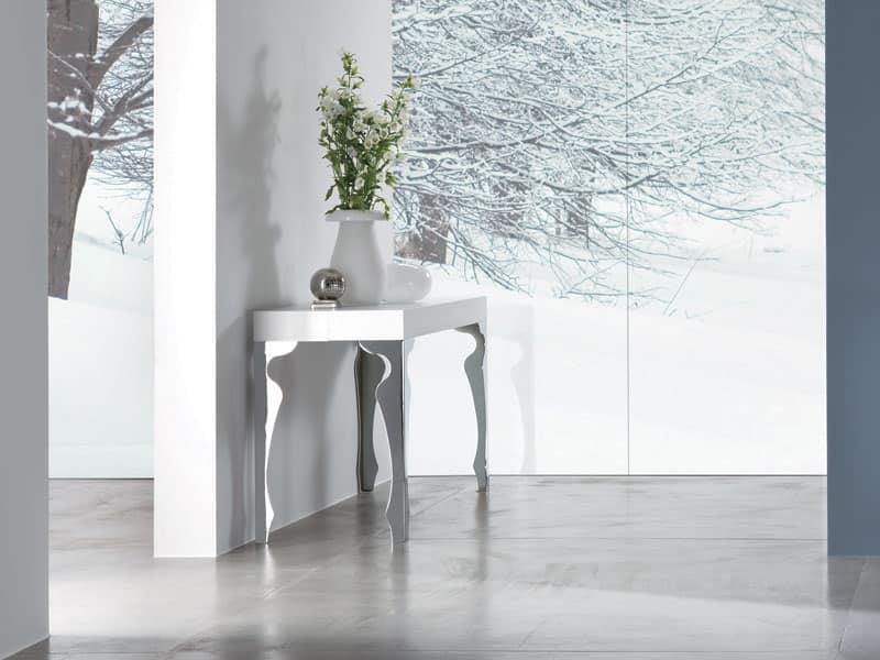 luxury, Consolle allungabile per soggiorno - IDFdesign