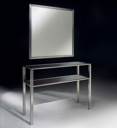 MADISON 3290 CONSOLLE, Consolle moderna in metallo per soggiorno