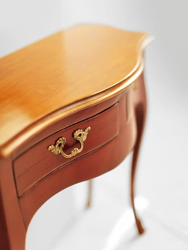 NEMESI Art. 3800, Consolle in legno laccato, stile classico, per corridoio
