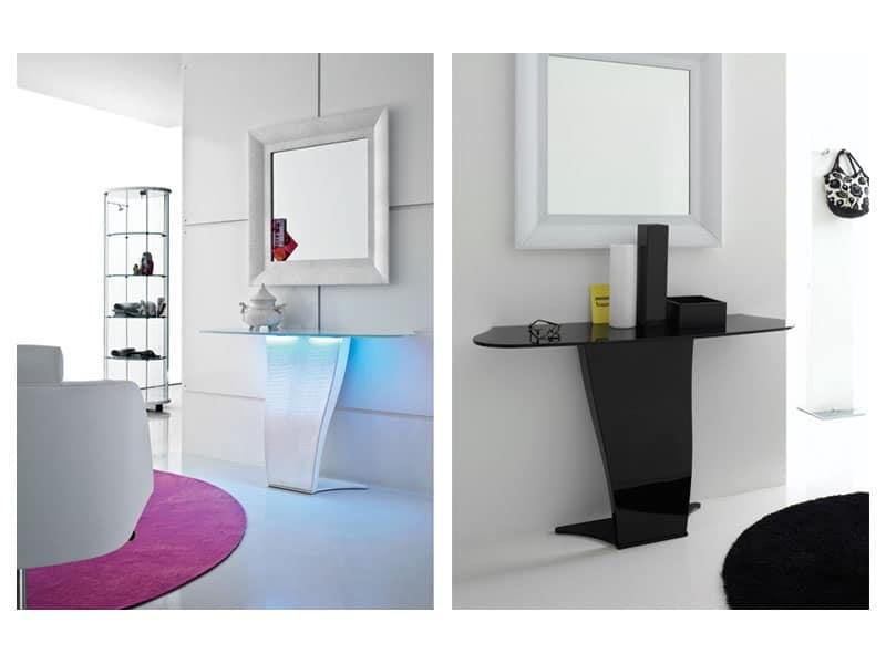 Consolle ricercata salotto idfdesign for Console per salotto