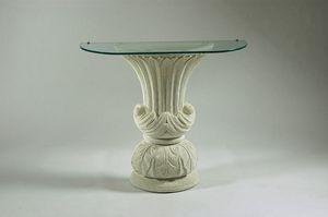 Vesta, Consolle stile classico, base in pietra