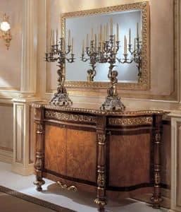 322, Consolle classica di lusso, ideale per ville e alberghi