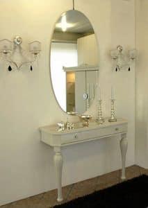 3525 CONSOLLE, Consolles classica, laccata lucida, per hall d'albergo