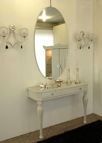 3525 CONSOLLE, Consolles classica, laccata lucida, per hall dalbergo