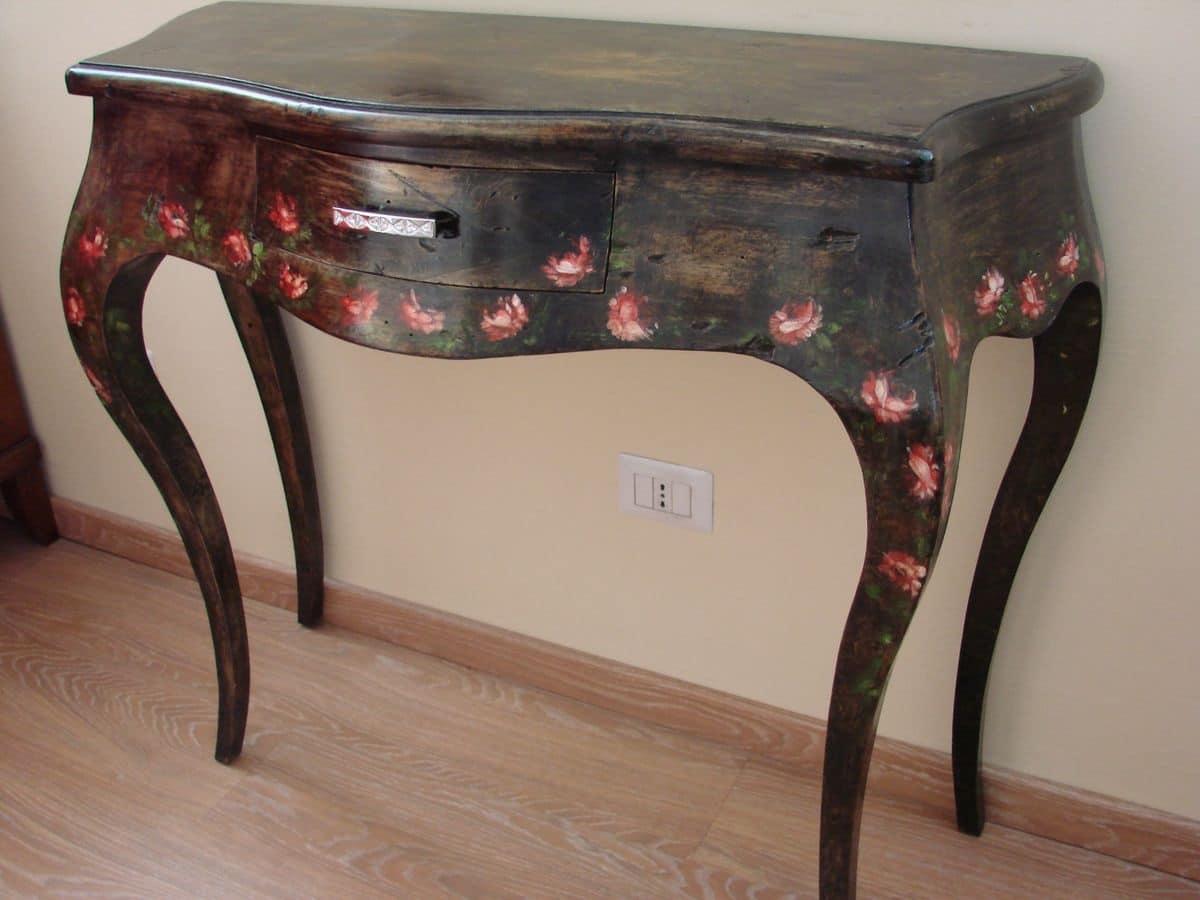 Tavoli consolle classiche ed in stile in stile e classiche for Ingresso casa classica