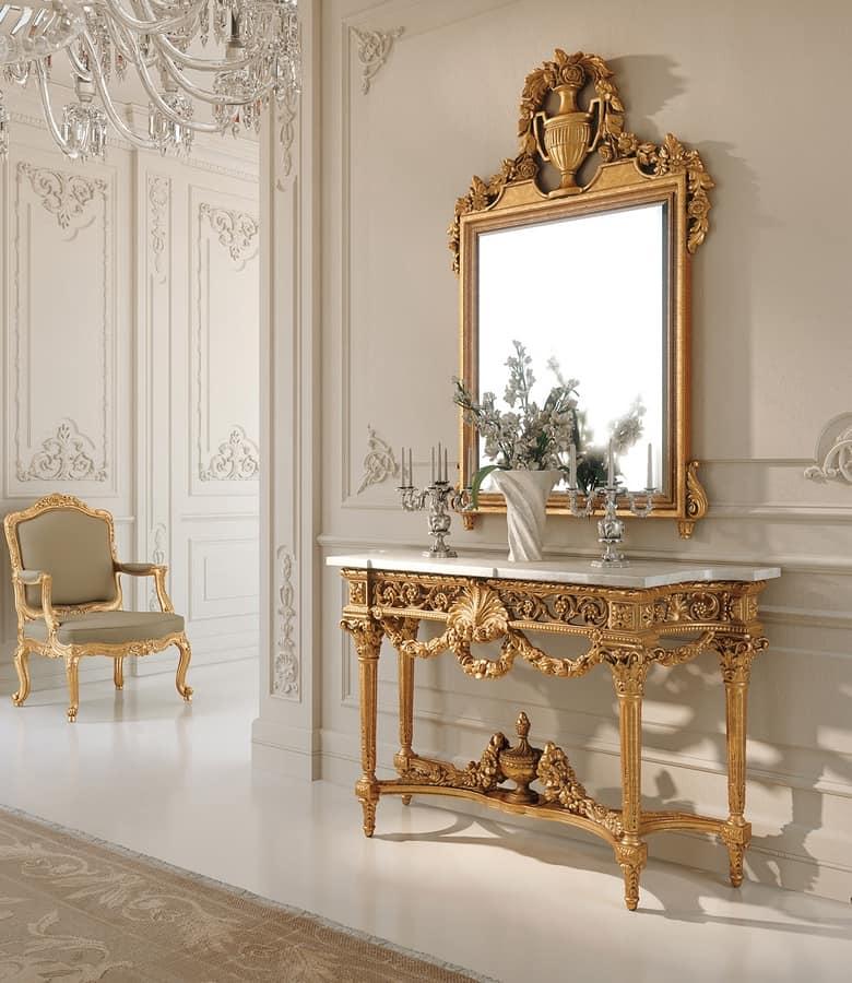 Sfarzosa consolle stile Luigi XVI | IDFdesign