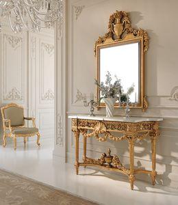 Art. 262, Sfarzosa consolle stile  Luigi XVI