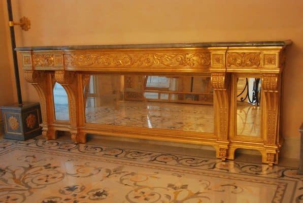 Consolles classiche di lusso consolle art cl 0061 - Faber mobili prezzi ...