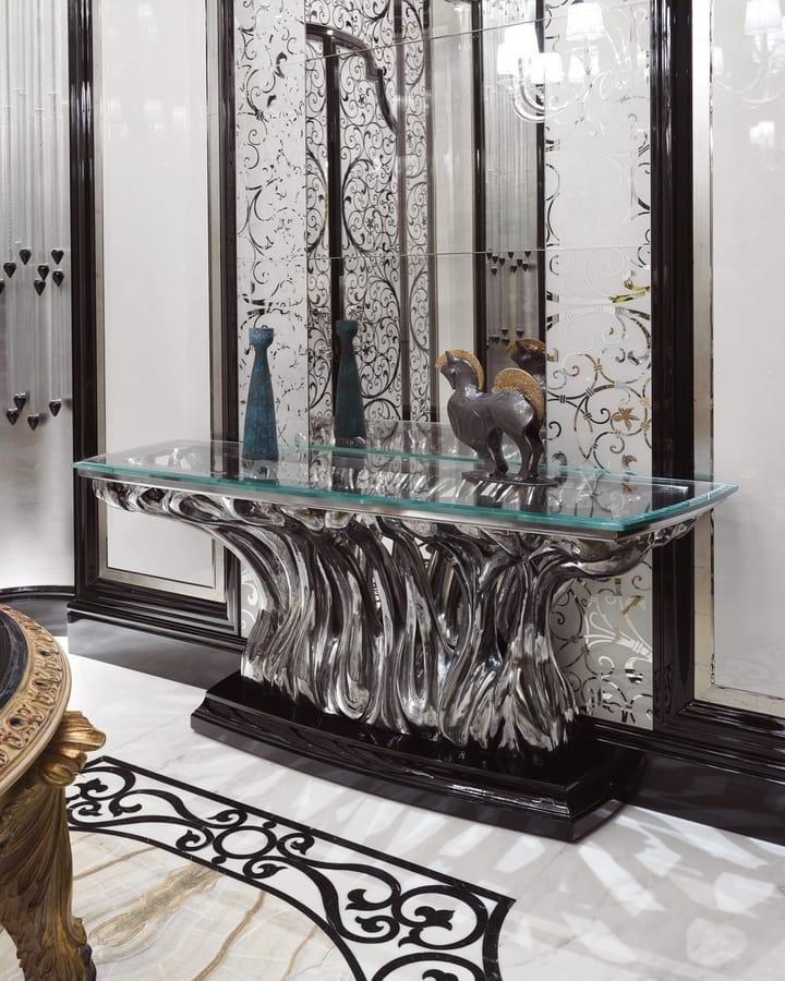 Consolle di lusso in vetro | IDFdesign